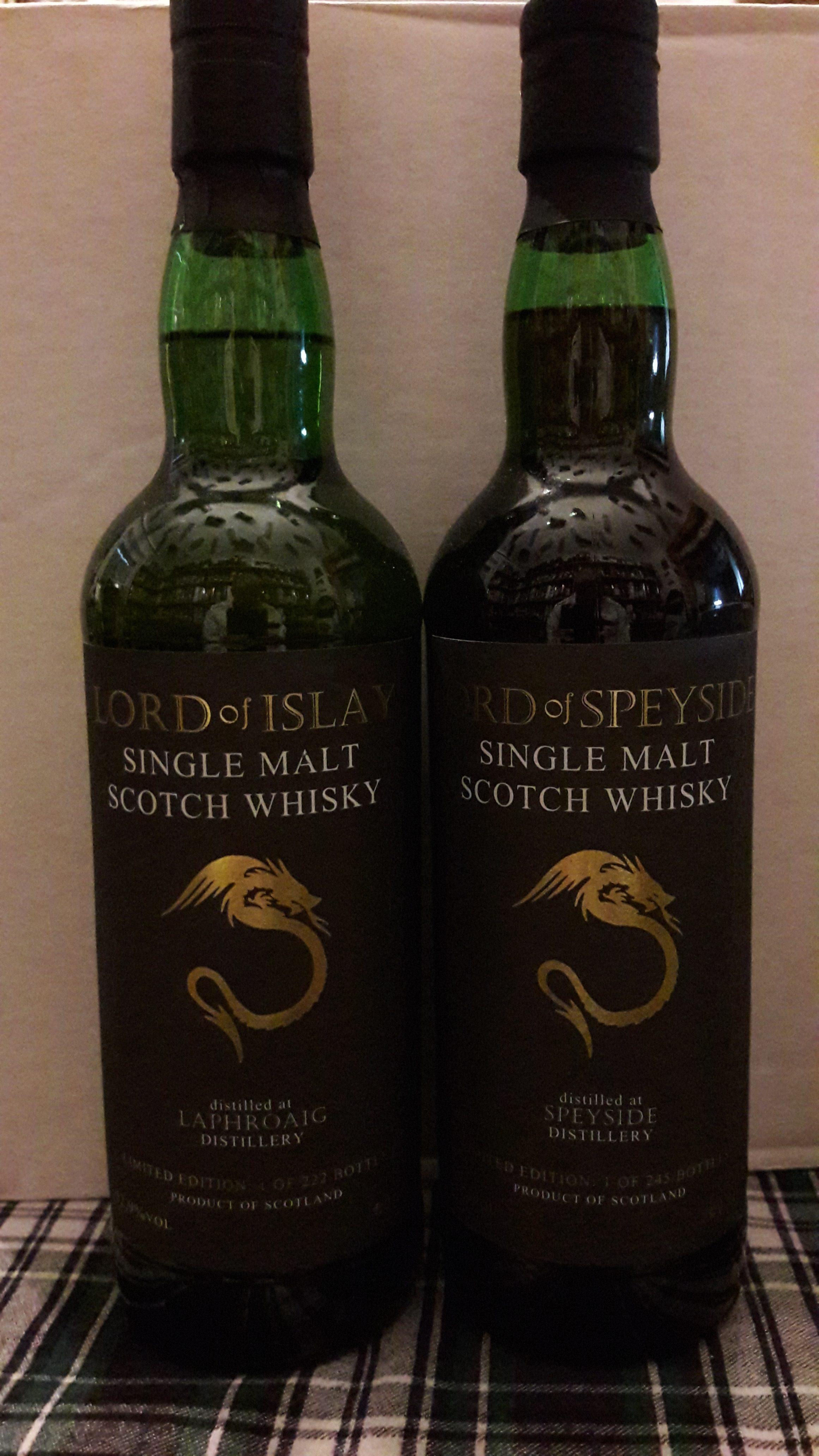 LORD of SPEYSIDE, ein dark sherry Speysider als 2. Abfüllung der Lord-Reihe